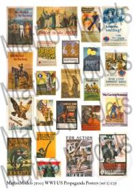 WWI US Propaganda Posters (set 1)