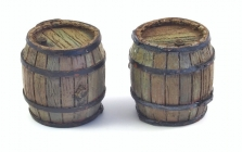 Wooden Barrels (2 pcs.)