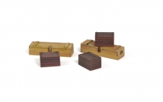 Wooden Crates (5 pcs.)