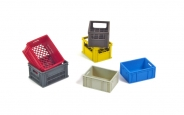 Plastic Crates Set