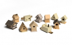 Birdhouses set