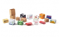 Cardboard Boxes - SMALL SET 1