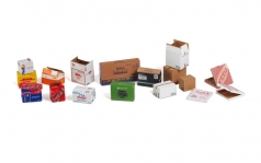 Cardboard Boxes - SMALL SET 2