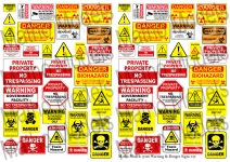 Warning & Danger Signs