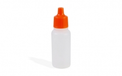 Empty 17ml Paint Bottle with eye dropper